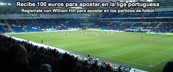 Recibe 100 euros para apostar en la liga Portuguesa
