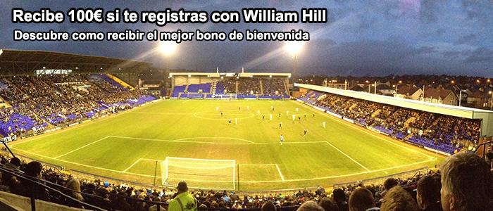 Recibe 100€ si te registras con William Hill