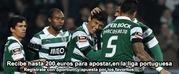 Recibe hasta 200 euros para apostar en la liga portuguesa
