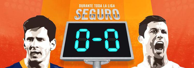 Nueva promoción de Luckia para los partidos de la Liga BBVA