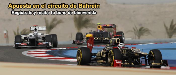 Apuesta en el circuito de Bahrein 2013