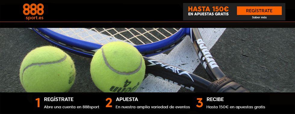 Apuesta en directo con 888sport en los partidos de tenis