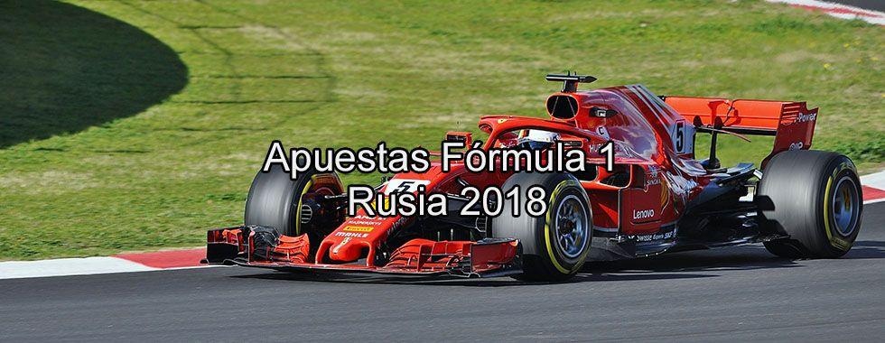 Apuestas Fórmula 1 Rusia 2018