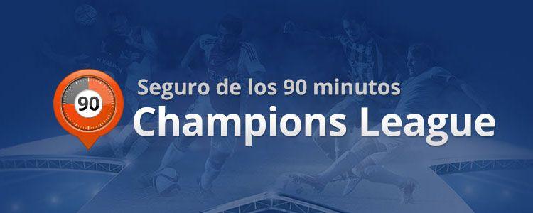 Seguro de los 90 minutos de la Champions League