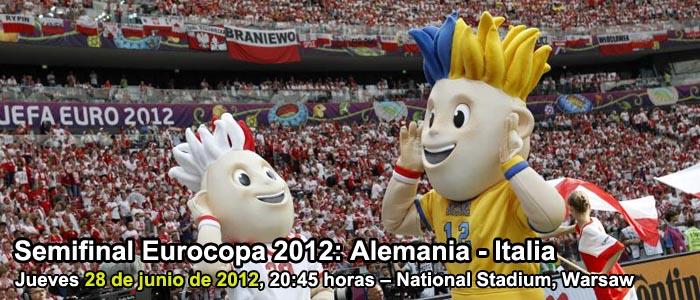 Apuestas semifinal Eurocopa 2012: Alemania - Italia