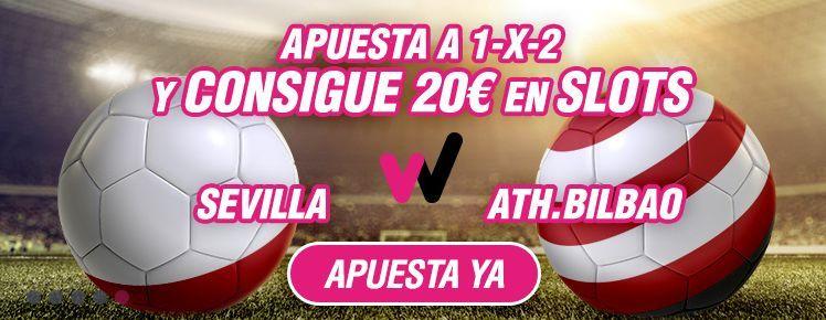 Apuesta con Wanabet en el partido Sevilla – Athletic Club