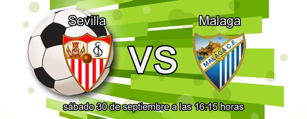 Apuesta segura para el partido Sevilla - Málaga