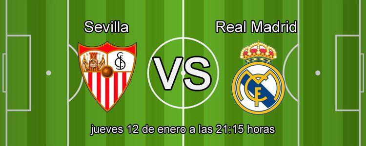 Supercuota Betfair por la victoria de Real Madrid ante el Sevilla