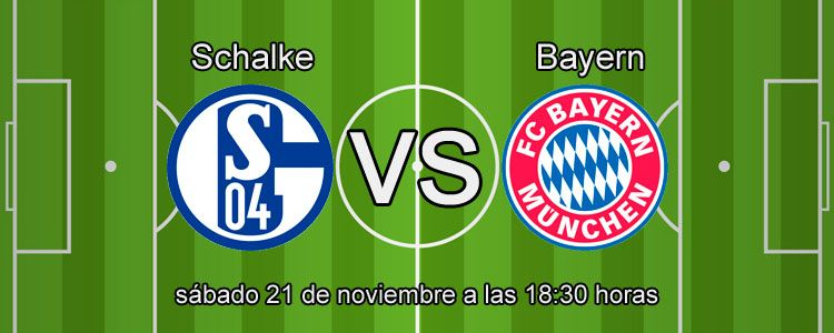 William Hill te presenta el partido Shalke - Bayern