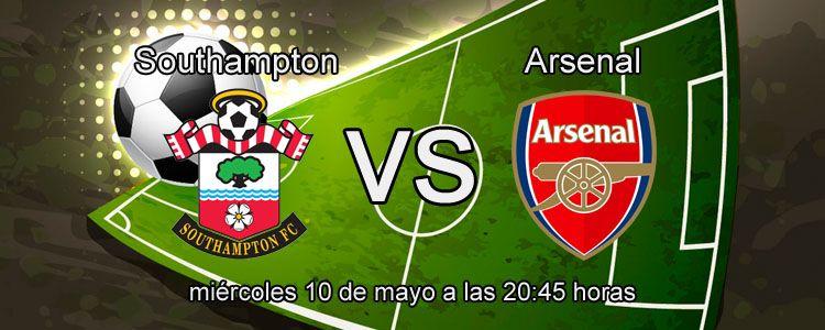 Arsenal se enfrenta ante el Southampton en la liga Inglesa