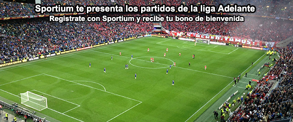 Sportium te presenta los partidos de la liga Adelante