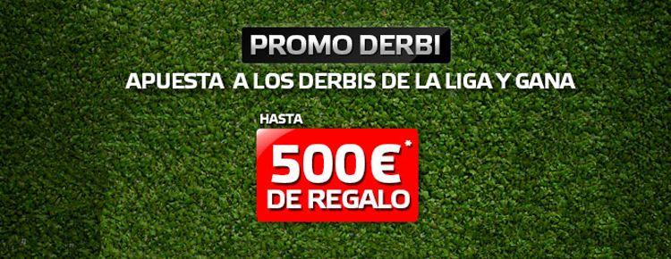 Promo Derbi, la nueva promoción de Suertia