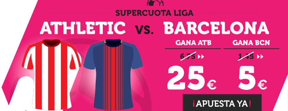 Supercuota Wanabet: Athletic - Barcelona