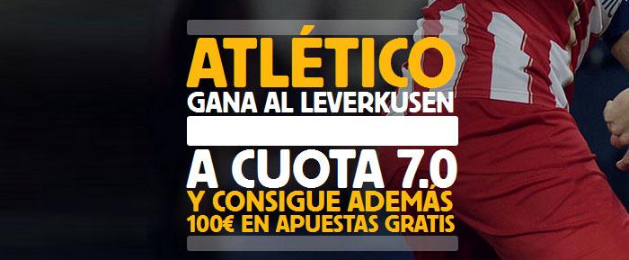 Supercuota por la victoria de Atlético ante B. Leverkusen
