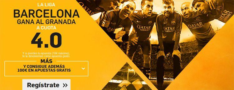 Supercuota por la victoria de Barcelona ante el Granada