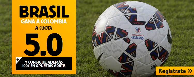 Supercuota por la victoria de Brasil contra Colombia