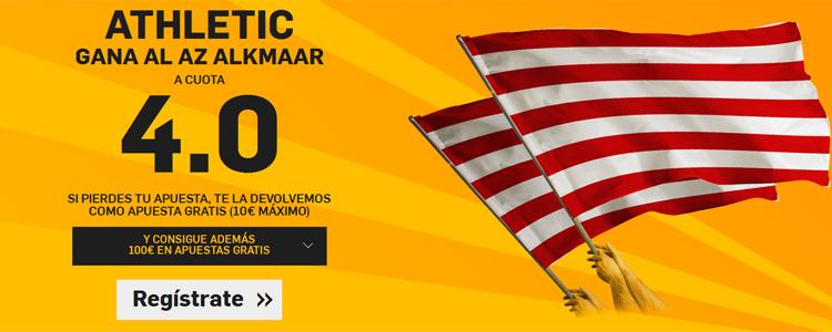 Supercuota por la victoria de Athletic ante el AZ Alkmaar