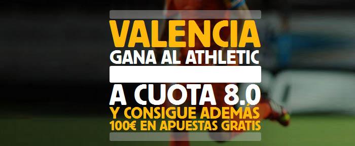 Súpercuota por la victoria de Valencia contra Athletic