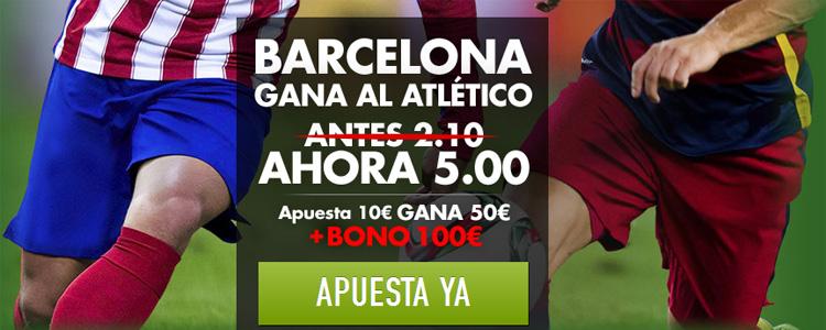 Estrategias de apuestas en el partido Atlético de Madrid - Barcelona