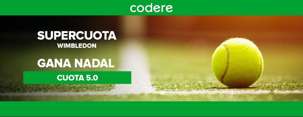 Apuesta con Codere en Wimbledon 2018
