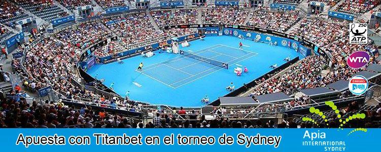 Apuesta con Titanbet en el torneo de Sydney