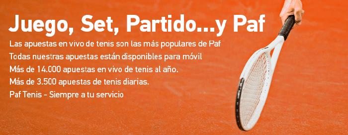 Apuesta en el Open de Madrid y gana 3€ en dinero real
