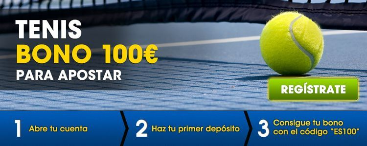 Como apostar en los partidos de tenis con William Hill