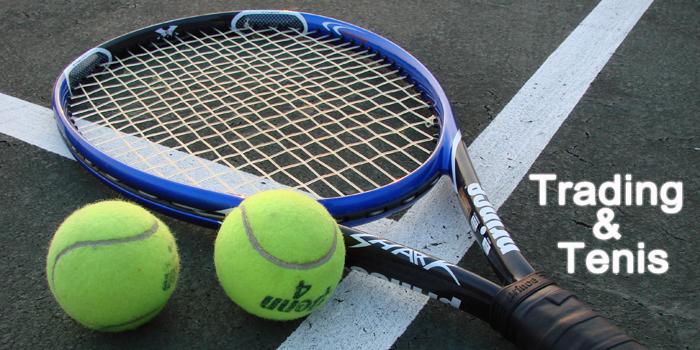 Trading en el tenis: una estrategia para cada momento
