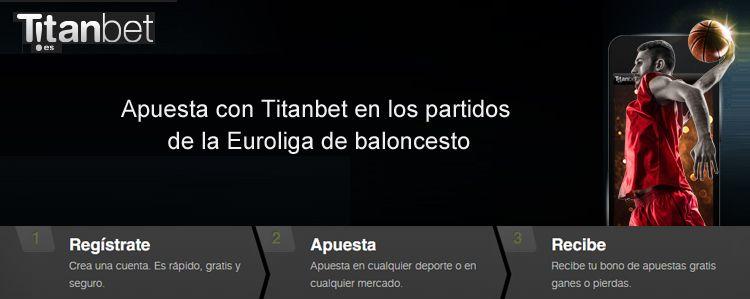 Apuesta con Titanbet en los partidos de la Euroliga de baloncesto
