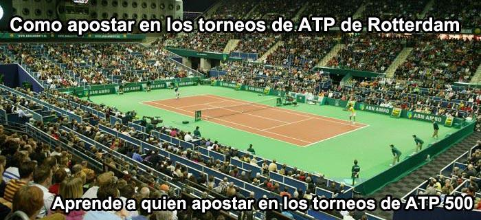 Como apostar en los torneos ATP de Rotterdam