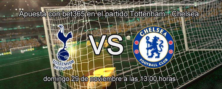 Tottenham se enfrenta ante el Chelsea en la liga Inglesa