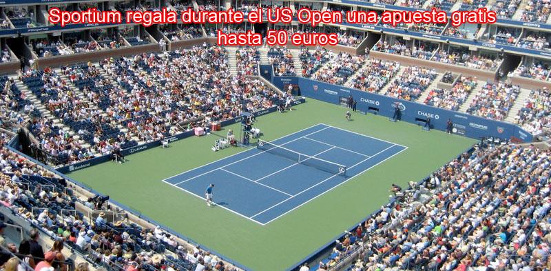 Sportium regala durante el US Open una apuesta gratis hasta 50 euros