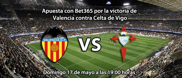 Apuesta por la victoria de Valencia contra el Celta de Vigo