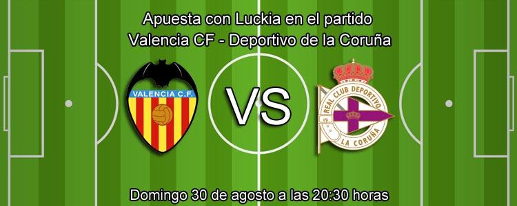 Previa partido Valencia - Deportivo de La Coruña