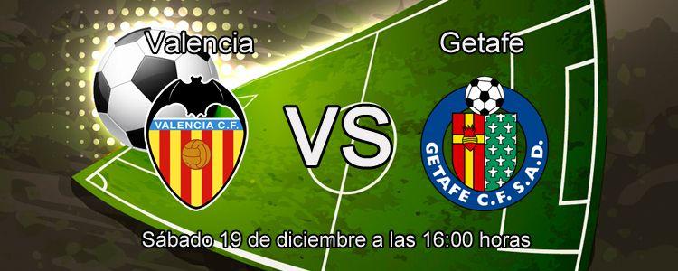 Previa partido Valencia CF contra Getafe