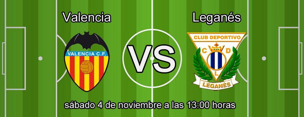 Apuesta segura para el partido Valencia - Leganés