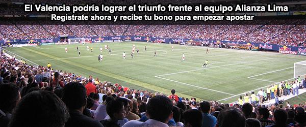 El Valencia podría lograr el triunfo frente al equipo Alianza Lima
