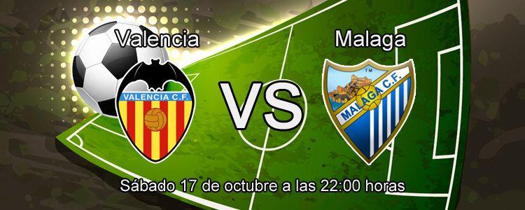 Apuesta con bet365 por la victoria de Valencia ante el Malaga