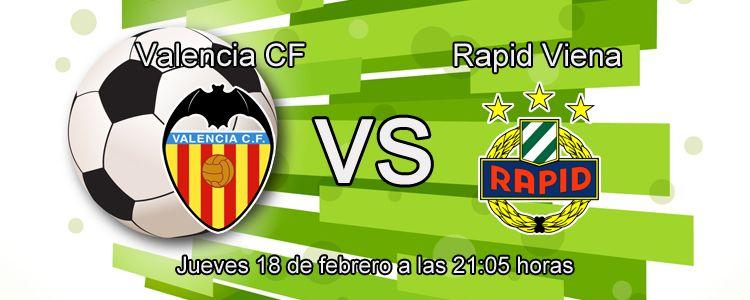 Consejos para apostar en el partido Valencia - Rapid Viena