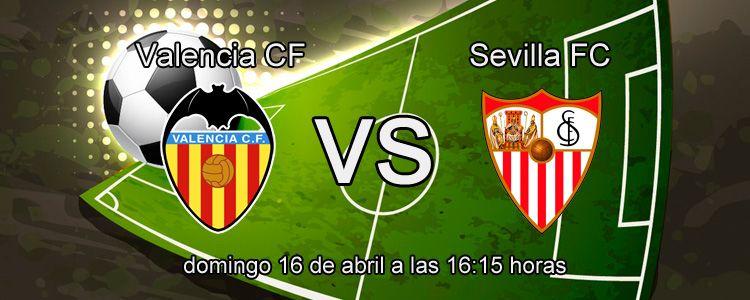Haz tu apuesta segura en el partido Valencia - Sevilla