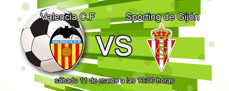 Previa del partido Valencia - Sporting de Gijón