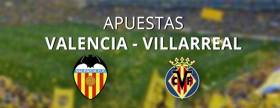 Previa y apuestas al partido Valencia - Villarreal