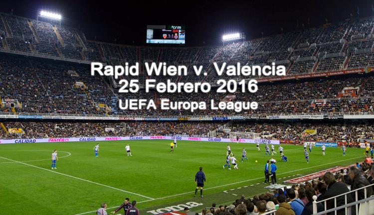 Súper Cuota por la clasificación de Valencia ante el Rapid Viena