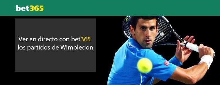 Ver en directo con Bet365 los partidos de Wimbledon