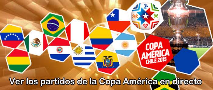 Ver los partidos de la Copa America en directo