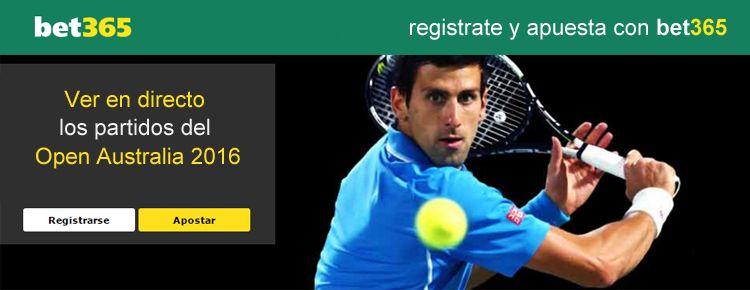 Como ver en directo los partidos del Open Australia 2016