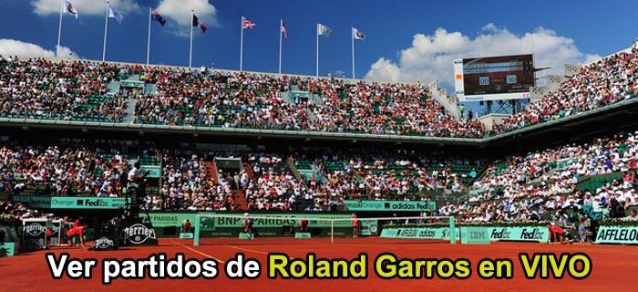Ver partidos de Roland Garros en vivo