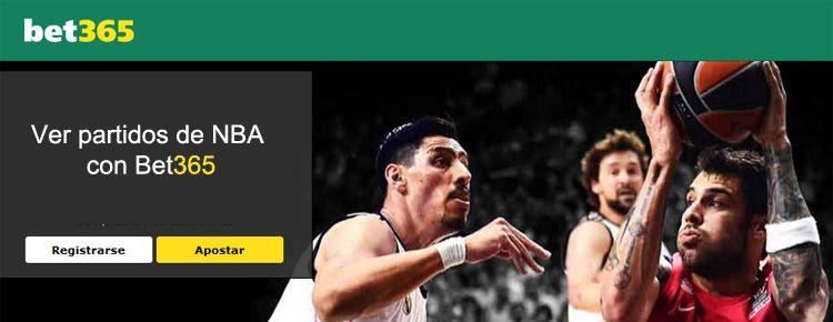 Ver partidos de NBA con Bet365
