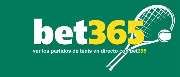Ver los partidos de tenis en directo con Bet365