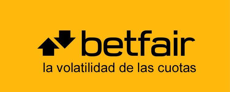 La volatilidad de las cuotas en Betfair Exchange